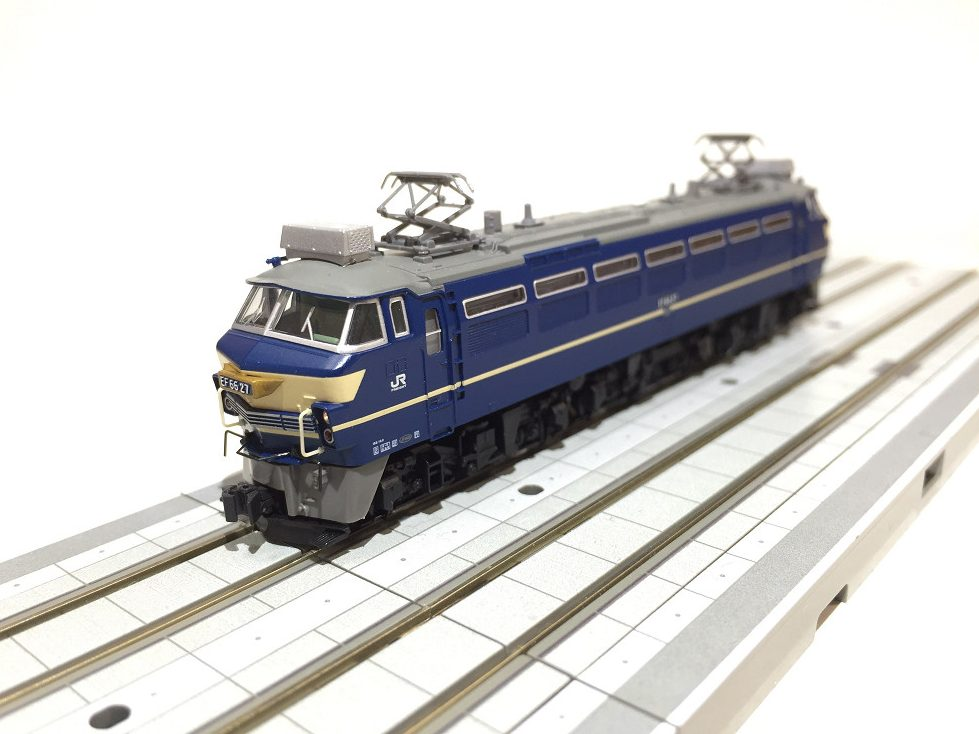 EF66形電気機関車(27号機)を弄る。TOMIX 9151