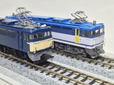EF65 100号機,114号機 を弄る TOMIX 92974