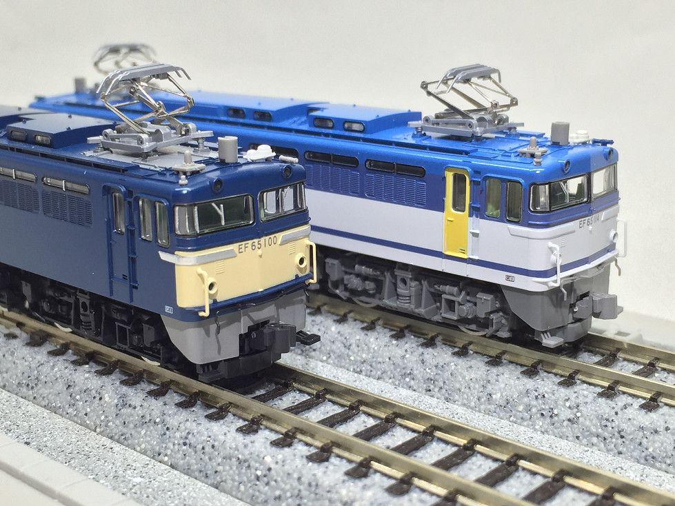 EF65 100号機,114号機 を弄る。TOMIX 92974