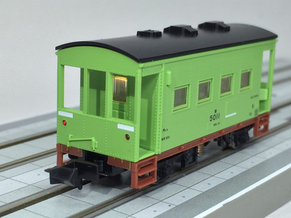 TOMIX 8715 ヨ5000 車掌車 5011