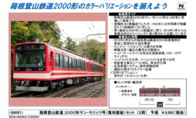 TOMIX 箱根登山鉄道 2000形サン・モリッツ号(復刻塗装)セット 98061