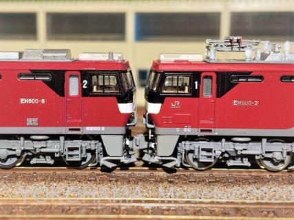EH500 2次形 新塗装を直す。TOMIX 7106
