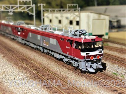 EH500 2次形 新塗装を弄る。その3 TOMIX 7106
